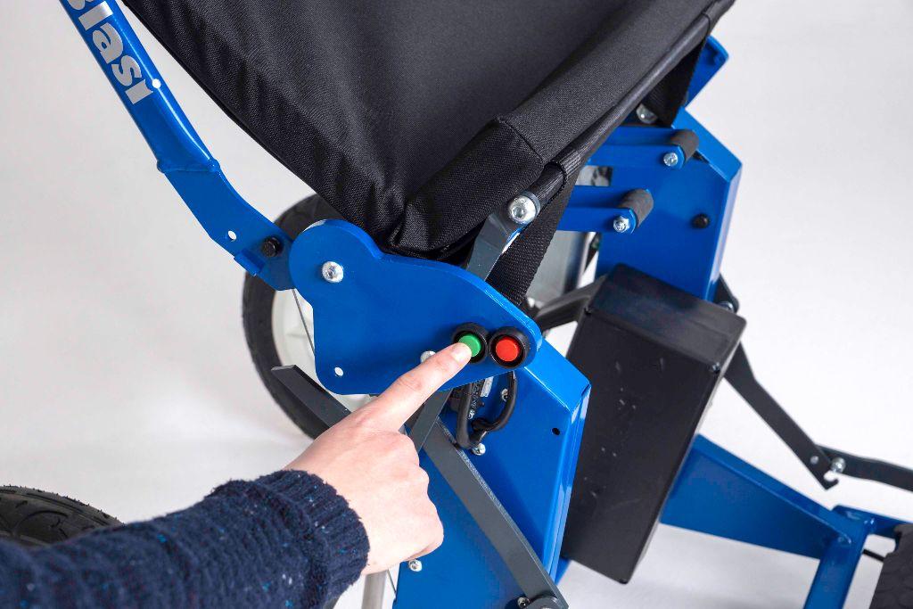 Scooter R30 blu6