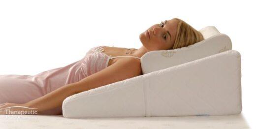 Sleeping Contoured Bed Wedge Acid Reflux Relief Astec